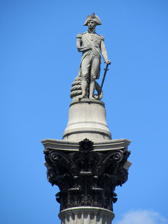 Nelson's Column, Traflagar Square, London