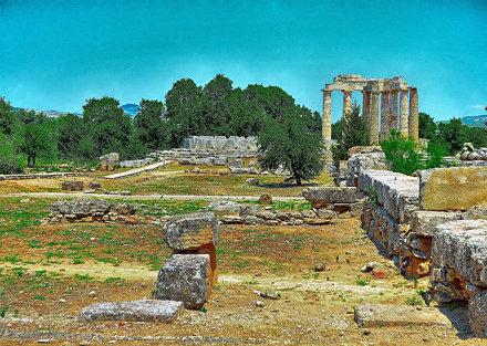 Zeus Temple Nemea