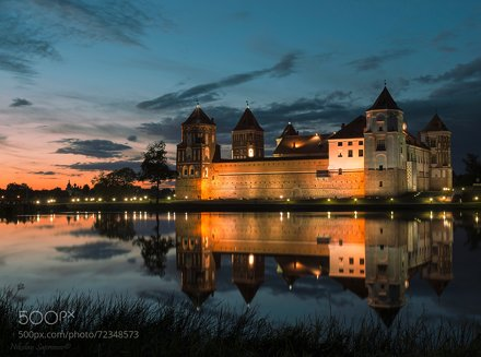 Evening Mir Castle