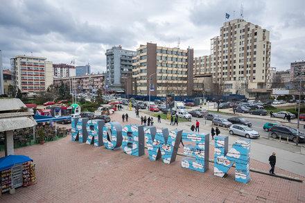 New Born in Pristina.