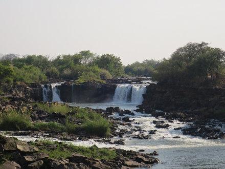 Part of Ngonye Falls, Western Province, Zambia