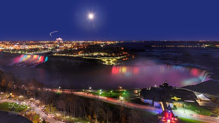Niagara at Moonrise