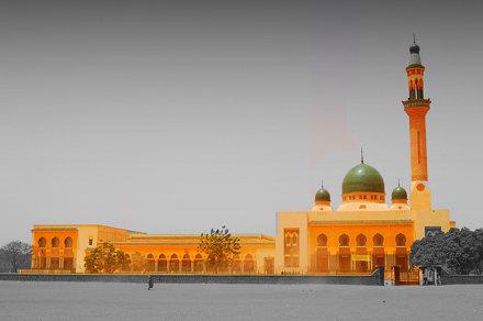 The Grand mosque (Niamey, Niger)