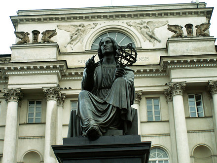 Warszawa - Nicholas Copernicus Monument