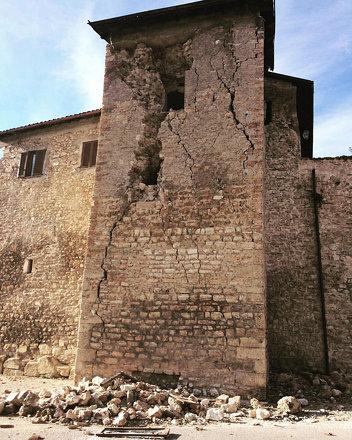 Norcia, 28/11/2016. #norcia #norcia2016 #umbria #perugia #terremoto #terremotocentroitalia #30ottobr
