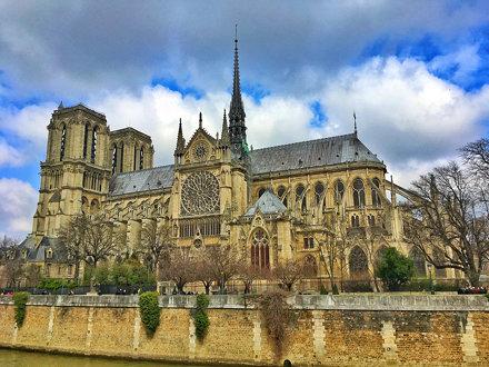 Paris   France  ~  Notre-Dame Cathedral  ~ Cathédrale Notre-Dame de Paris