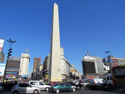 Obelisk of Buenos Aires (Obelisco de Buenos Aires - Buenos Aires Argentina