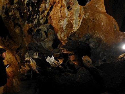 Ochtinská Aragonite Cave, Slovakia