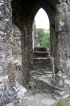 Okehampton Castle.
