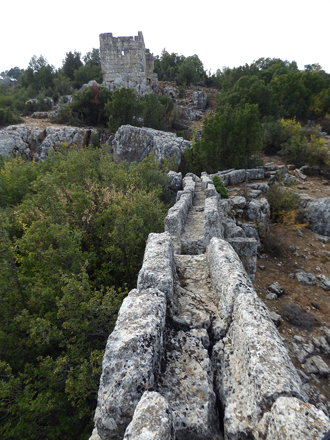 Olba - aqueduct and fortifications