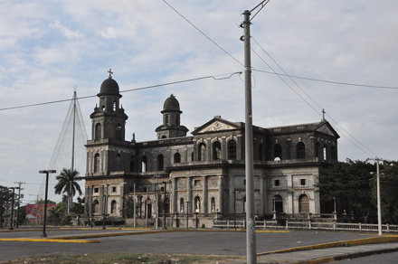 The Old Cathedral of Managua - still standing, but out of commission due to earthquake damage