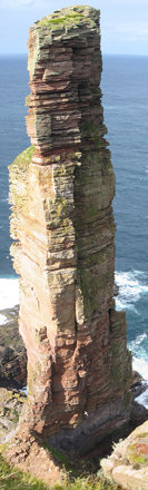 Old Man Of Hoy, Hoy, Orkney (Photomontage)