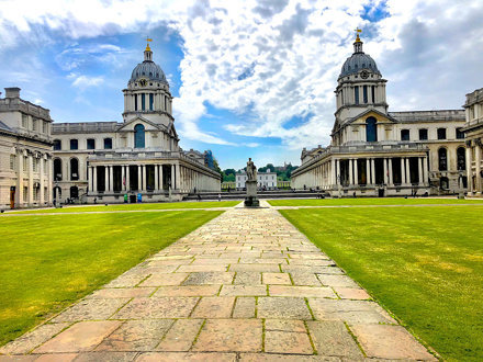 Old Royal Naval College (Greenwich University), Greenwich, London, England