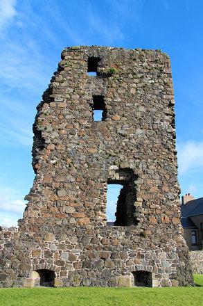 Olderfleet Castle, Larne, County Antrim