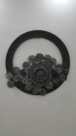 Exhibition by Raqib Bashorun at the Omenka Gallery, Ikoyi, Lagos