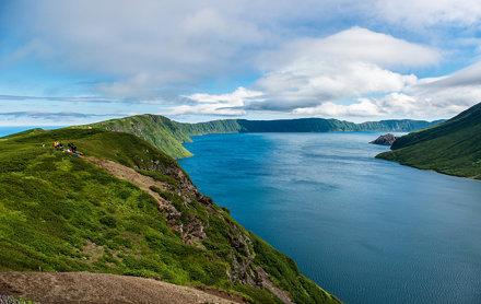 Kuril Islands - Onekotan, Krenitsyn volcano