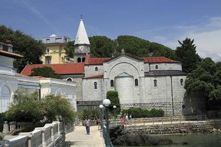 Fontain in Opatija - Croatia