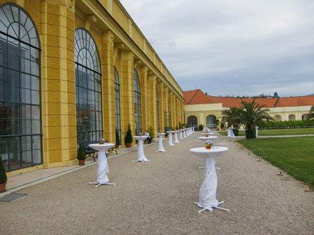 Orangerie of Schloss Schonbrunn, for EPS2015 banquet