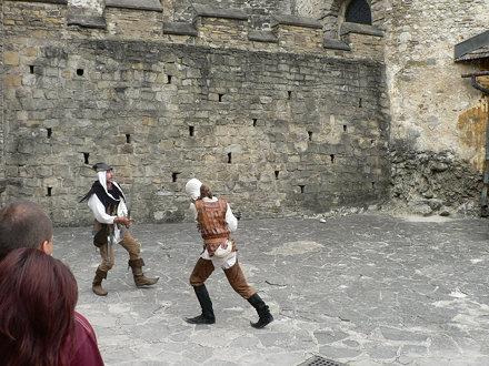 Sword fight - Oravský hrad - 98