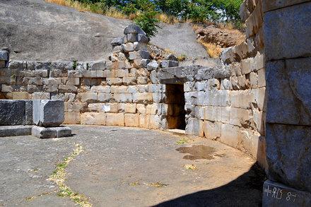 Treasury of Minyas, Orchomenos, June 2012