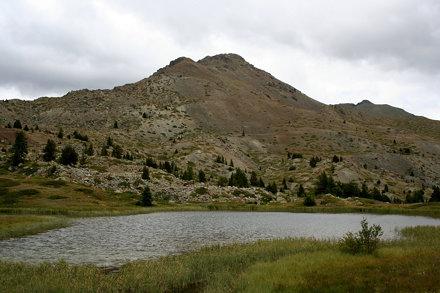 Lac des Sarailles et le Chenaillet
