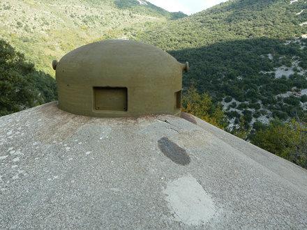 Maginot Line Fort, near Sainte-Agnès (3)