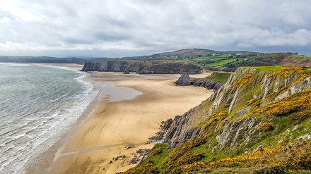 Three Cliffs Bay, The Gower Peninsula
