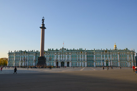 Winter Palace and the Alexander Column