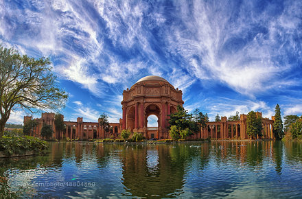 Painted Sky: Palace of Fine Arts, San Francisco