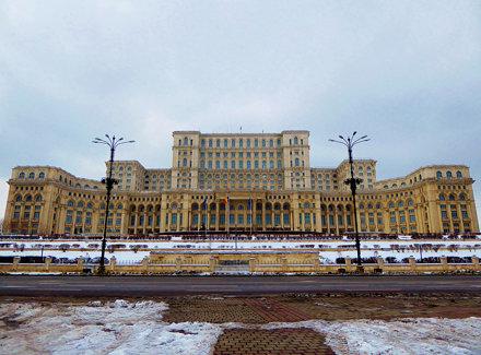 Palatul Parlamentului (Palace of Parliament ), București