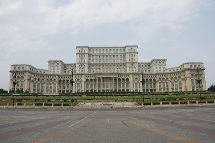București (Bucharest, Romania) - Palatul Parlamentului (Palace of the Parliament)