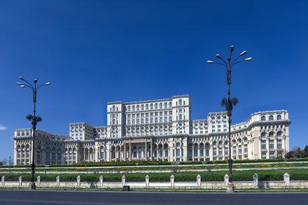 Palace of the Parliament (Palatul Parlamentului), Bucharest, Romania