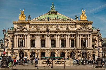 The Palais Garnier, Paris France