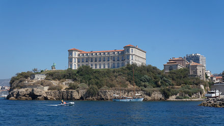 Palais du Pharo, at the entrance of the old Harbour of Marseille