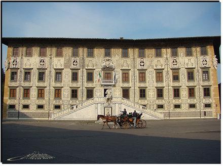 Pisa - Piazza Cavalieri - Scuola Normale Superiore