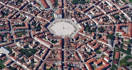 Palmanova, the perfect city