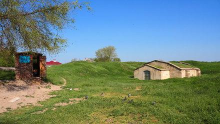 Last bastion of the Tiraspol's fortress
