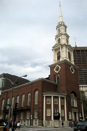 Boston - Freedom Trail: Park Street Church