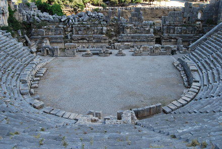 The largest Amphitheatre in Lycia