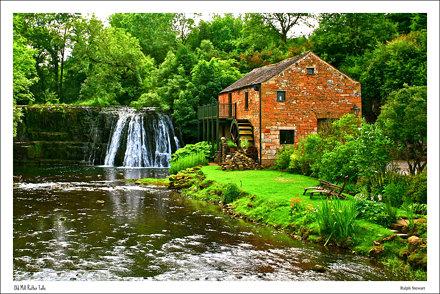 Rutter Falls  Old Mill