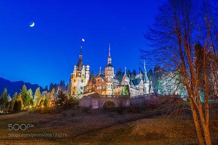 Romanian tales - Peles castle.