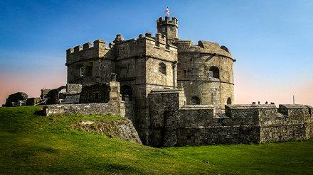 Pendennis Castle, Falmouth, Cornwall, England