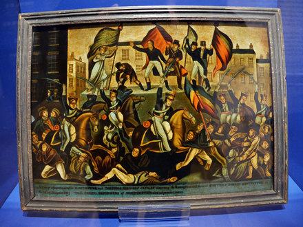The Peterloo Massacre - Manchester 1819