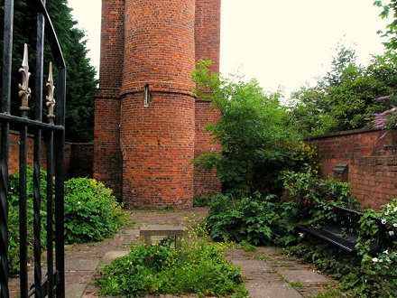 Through Perrott's Folly gate