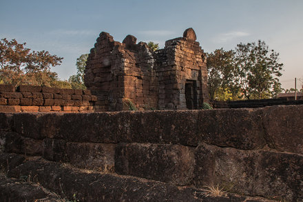 IMG_1841 - Route 22 - ruine temple khmer - Phra That Phu Pek