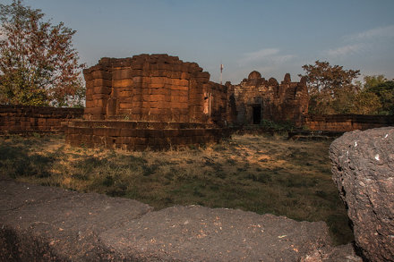 IMG_1846 - Route 22 - ruine temple khmer - Phra That Phu Pek
