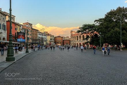 Verona Piazza Bra 1 - Italy