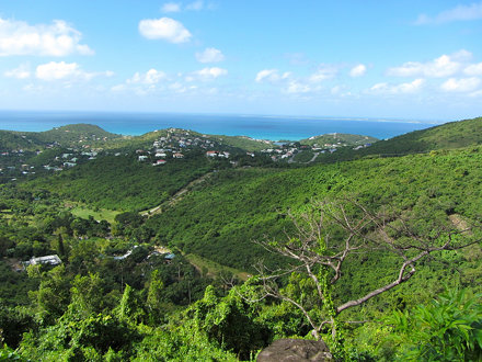 View of Colombier from Pic du Paradis