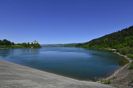 Lake Czorsztynskie, Poland