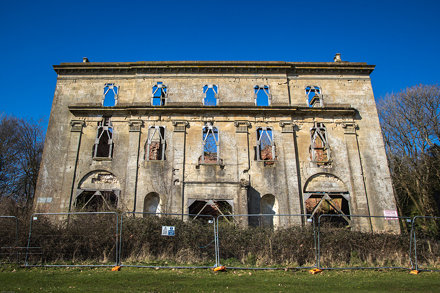 Piercefield House Ruins